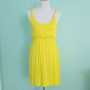 Soprano yellow cover up dress